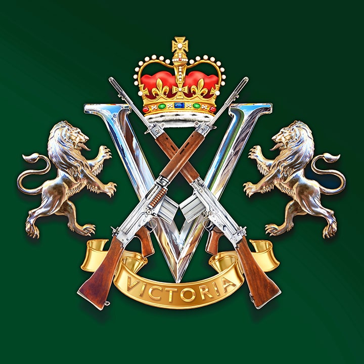 ROYAL VICTORIA<br> REGIMENT<br> PIPES AND DRUMS