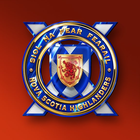 NOVA SCOTIA <br>HIGHLANDERS<br> PIPES & DRUMS