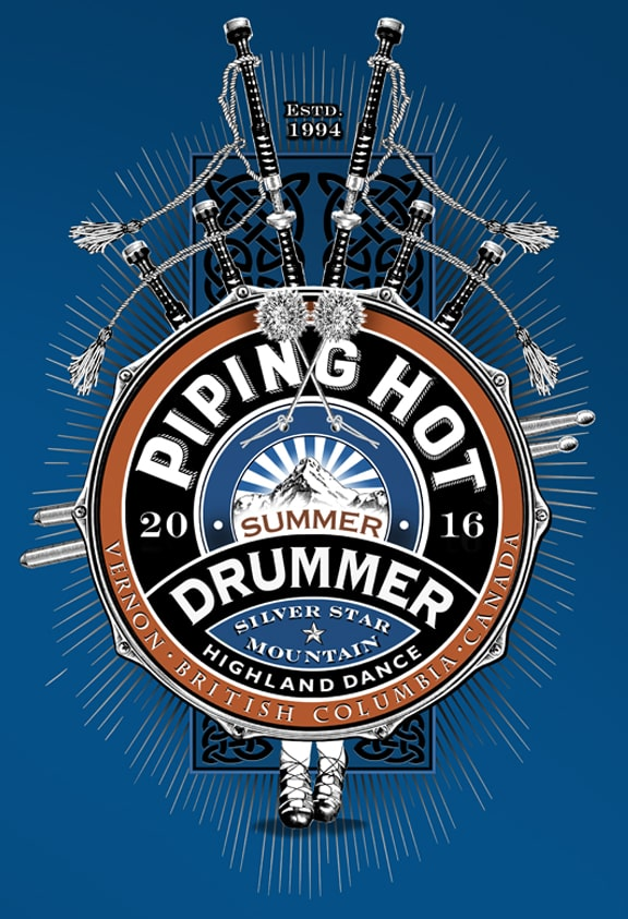 PIPING HOT<br> SUMMER DRUMMER